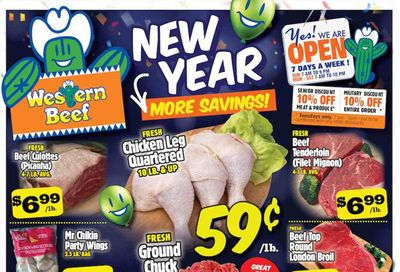 Western Beef Weekly Ad Flyer January 6 to January 12