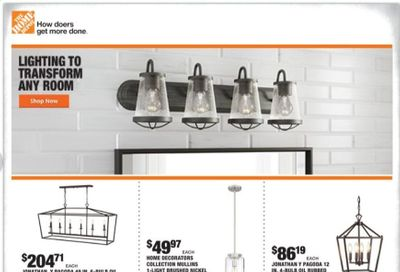 The Home Depot Weekly Ad Flyer January 7 to January 13