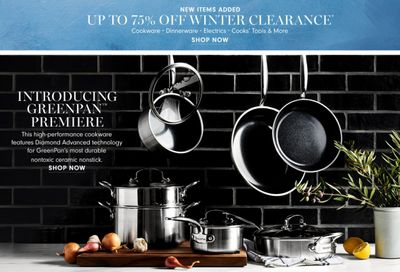 Williams-Sonoma Weekly Ad Flyer January 9 to January 16