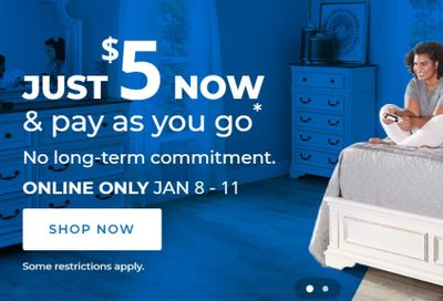 Aaron's Weekly Ad Flyer January 8 to January 11