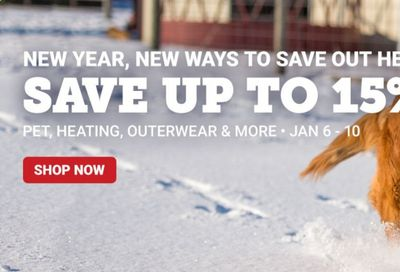Tractor Supply Co. Weekly Ad Flyer January 6 to January 10