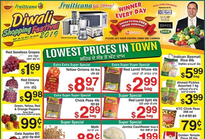 Fruiticana (BC) Flyer September 27 to October 2