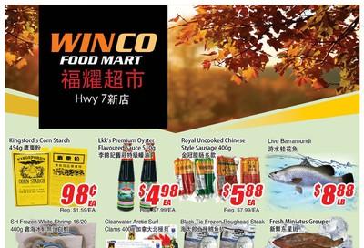 WinCo Food Mart (HWY 7) Flyer September 26 to October 2