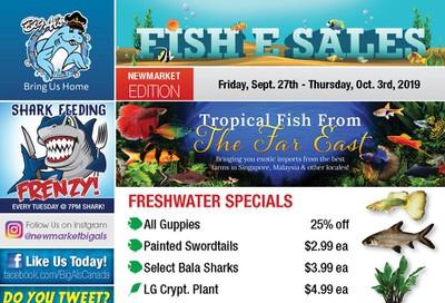 Big Al's (Newmarket) Weekly Specials September 27 to October 3