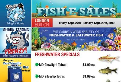 Big Al's (London) Weekend Specials September 27 to 29