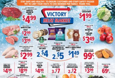 Victory Meat Market Flyer January 12 to 16