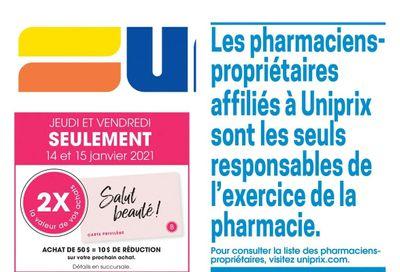 Uniprix Flyer January 14 to 20
