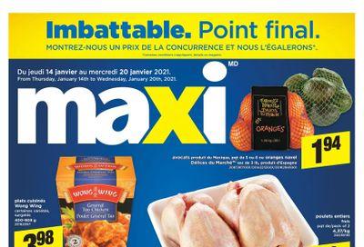 Maxi & Cie Flyer January 14 to 20