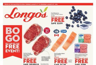 Longo's Flyer January 14 to 20