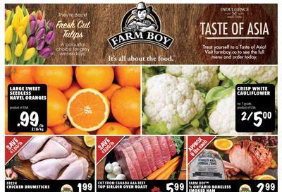 Farm Boy Flyer January 14 to 20