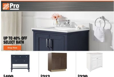 The Home Depot Weekly Ad Flyer January 11 to January 18
