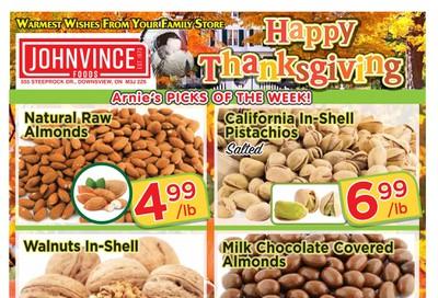 Johnvince Foods Flyer September 28 to October 11