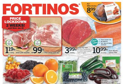 Fortinos Flyer January 14 to 20