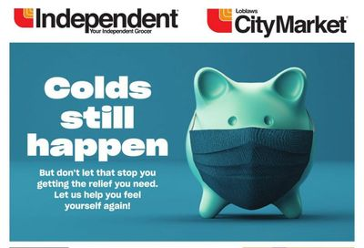 Loblaws City Market (West) Cough and Cold Flyer January 14 to February 10