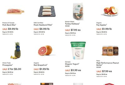Whole Foods Market (ON) Flyer January 13 to 19