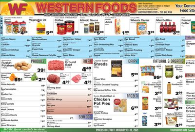 Western Foods Flyer January 13 to 19