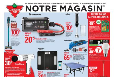 Canadian Tire (QC) Flyer January 14 to 20