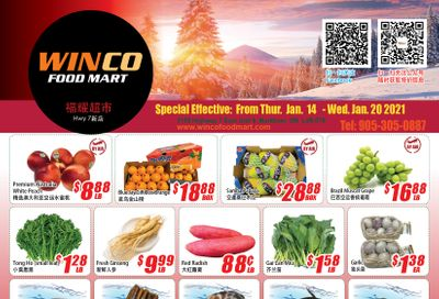 WinCo Food Mart (HWY 7) Flyer January 14 to 20