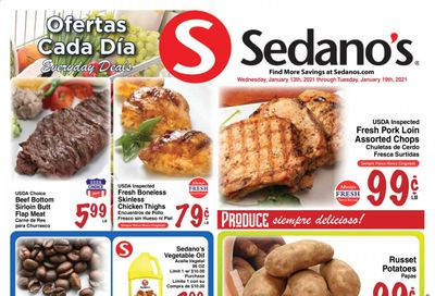 Sedano's (FL) Weekly Ad Flyer January 13 to January 19