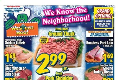 Western Beef Weekly Ad Flyer January 7 to January 13