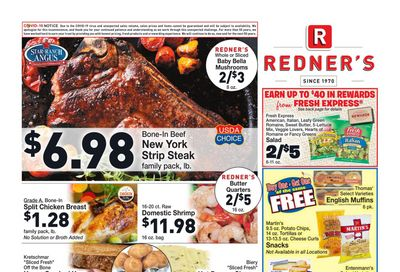 Redner's Markets Weekly Ad Flyer January 14 to January 20, 2021