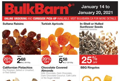 Bulk Barn Flyer January 14 to 20