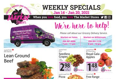 The Market Stores Flyer January 14 to 20