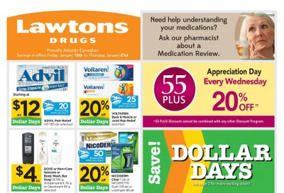 Lawtons Drugs Flyer January 15 to 21