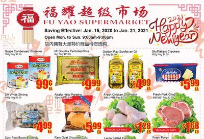 Fu Yao Supermarket Flyer January 15 to 21