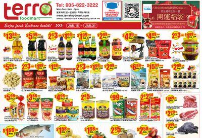 Terra Foodmart Flyer January 15 to 21