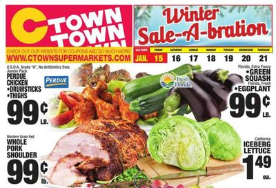 C-Town Weekly Ad Flyer January 15 to January 21