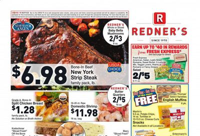 Redner's Markets Weekly Ad Flyer January 14 to January 20