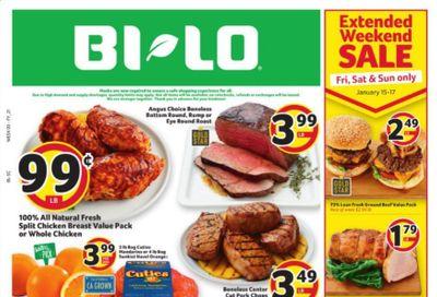 BI-LO Weekly Ad Flyer January 13 to January 19
