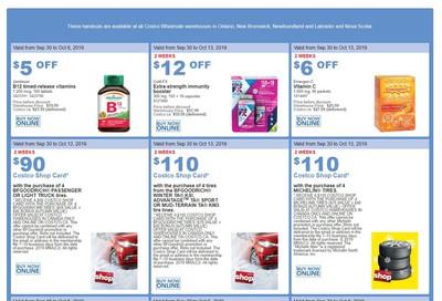 Costco (ON & Atlantic Canada) Weekly Savings September 30 to October 6