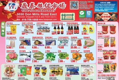 Tone Tai Supermarket Flyer January 17 to 23