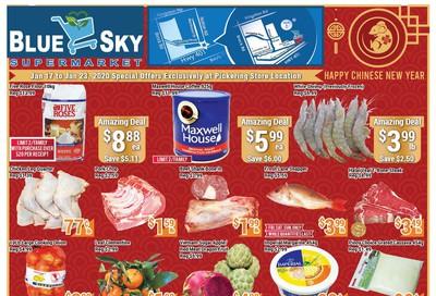 Blue Sky Supermarket (Pickering) Flyer January 17 to 23