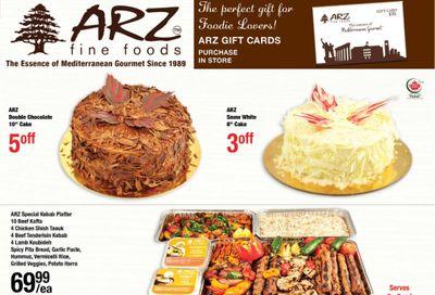 Arz Fine Foods Flyer January 15 to 21