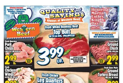 Western Beef Weekly Ad Flyer January 14 to January 20, 2021
