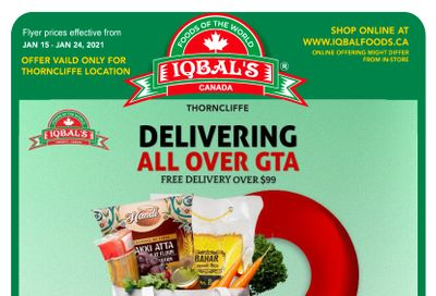 Iqbal Foods Flyer January 15 to 24