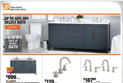 The Home Depot Weekly Ad Flyer January 14 to January 21