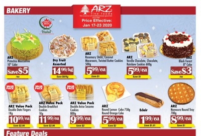 Arz Fine Foods Flyer January 17 to 23