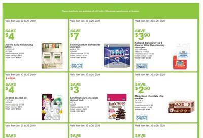 Costco (QC) Weekly Savings January 20 to 26