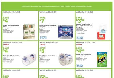 Costco (BC, AB, SK & MB) Weekly Savings January 20 to 26
