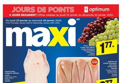 Maxi Flyer January 23 to 29