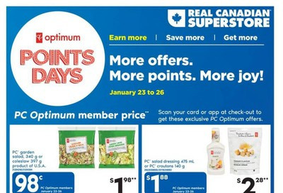 Real Canadian Superstore (ON) Flyer January 23 to 29