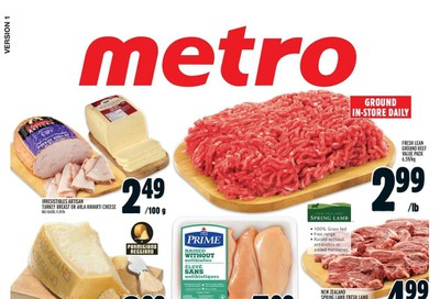 Metro (ON) Flyer January 23 to 29