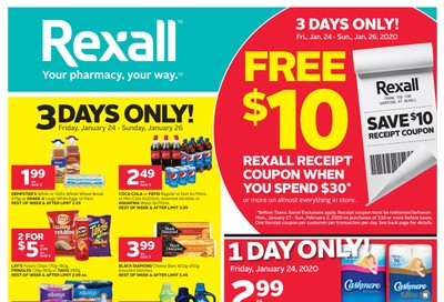 Rexall (ON) Flyer January 24 to 30