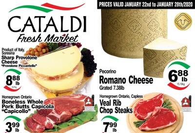 Cataldi Fresh Market Flyer January 22 to 28