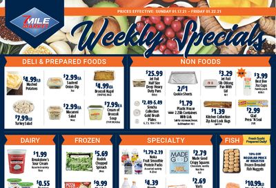 7 Mile Market Anniversary Sale Weekly Ad Flyer January 17 to January 22, 2021