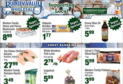 Bulkley Valley Wholesale Flyer January 14 to 20